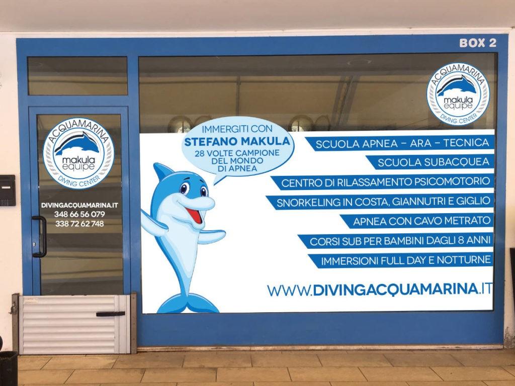 Diving Acquamarina